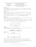 Đề thi học sinh giỏi vật lý 9 tỉnh An Giang năm học 2003 - 2004 (đề 1)