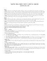 THPT PHAN THIẾT MA TRẬN ĐỀ KIỂM TRA HỌC KÌ 1 MÔN GIÁO DỤC CÔNG DÂN 10