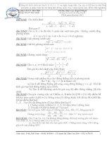 bộ đề luyện thi vào lớp 10 môn toán hay