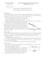 Đề và Đáp án Học Sinh Giỏi Vật Lý 12 (có đáp án) (31)