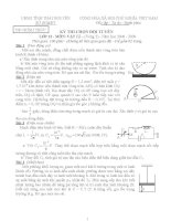 Đề thi học sinh giỏi vật lý lớp 12 chọn lọc số 21