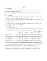TUYỂN TẬP CÁC ĐỀ LUYỆN THI THPT QUỐC GIA MÔN ĐỊA LÝ ĐỀ SỐ 6