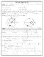 Đề và lời giải chi tiết quốc gia hay lần 2 -2015 môn vật lý