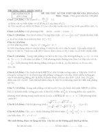 đề thi thử THPT QG môn toán số 22.PDF