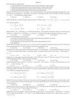 ĐỀ THI THỬ SỐ 6 - CÓ LỜI GIẢI CHI TIẾT môn vật lý