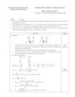 Đề hoá lớp 11 - sưu tầm đề kiểm tra, thi học sinh giỏi hoá học lớp 11 tham khảo bồi dưỡng (45)