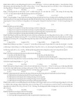 ĐỀ THI THỬ SỐ 4 - CÓ LỜI GIẢI CHI TIẾT môn vật lý