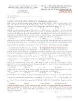 Đề Thi Thử Lần 1 Chuyên Lý Tự Trọng-Cần Thơ 2014 môn vật lý có đáp án (6)