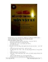 Tuyển tập đề luyện thi vật lý năm 2014 (Thầy Vũ Duy Phương)