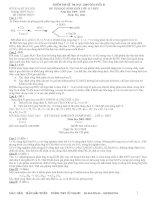 Đề hoá lớp 11 - sưu tầm đề kiểm tra, thi học sinh giỏi hoá học lớp 11 tham khảo bồi dưỡng (7)