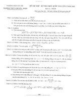 đề toán thi thử THPT QG năm 2015 đề số 183