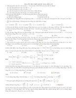 ĐỀ ÔN THI THPT QUỐC GIA (ĐÁP ÁN CHI TIẾT) môn vật lý