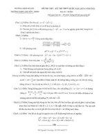 đề toán thi thử THPT QG năm 2015 đề số 184