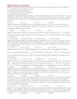 25 đề sưu tầm thi thử THPT Quốc gia môn vật lý (cớ lời giải chi tiết năm 2014) (1)
