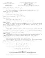 đề toán thi thử THPT QG năm 2015 đề số 175