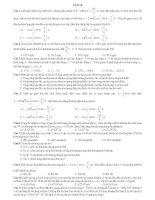 ĐỀ THI THỬ SỐ 8 - CÓ LỜI GIẢI CHI TIẾT môn vật lý