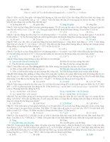 Đề ôn thi THPT QUỐC GIA 2015 số 4 môn vật lý