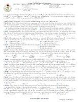 17 đề thi thử Vật Lý (các trường chuyên) (có đáp án chi tiết)