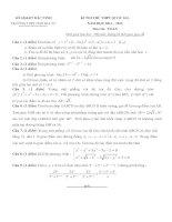 đề toán thi thử THPT QG năm 2015 đề số 18