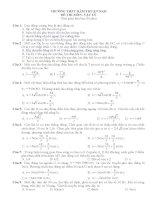 30 đề thi thử Tốt Nghiệp THPT năm 2009 các trường môn vật lý (11)
