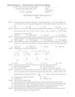 Đề ôn thi đại học môn Vật lý số 114