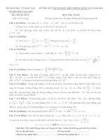 đề toán thi thử THPT QG năm 2015 đề số 177