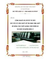 Tiểu luận CÔNG NGHỆ IN OSFFET TỜ RỜI CÁC YẾU TỐ CẦN THIẾT ĐỂ ẤN ĐỊNH SẢN XUẤT VÀ NÂNG CAO CHẤT LƯỢNG SẢN PHẨM IN TẠI NHÀ IN NGÂN HÀNG II