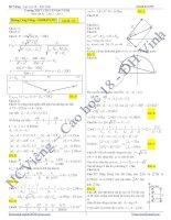 Đề thi thử THPT Quốc gia môn vật lý các trường chuyên năm 2012  (8)