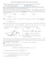 25 đề sưu tầm thi thử THPT Quốc gia môn vật lý (cớ lời giải chi tiết năm 2014) (2)