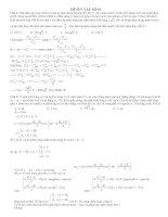 Đề và lời giải chi tiết thi thử lần 1 2015 môn vật lý
