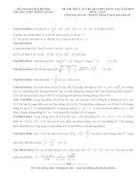 đề toán thi thử THPT QG năm 2015 đề số 172