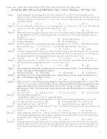 Đề ôn thi đại học môn Vật lý số 103