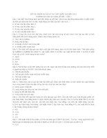 ĐỀ THI CHUẨN BỊ CHO KÌ THI THPT QUỐC GIA của ĐH sư phạm hà nội