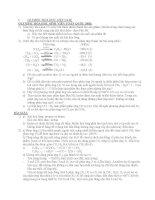 Tổng hợp bài tập hóa hữu cơ trong ôn thi HSG quốc gia  olympic hóa học