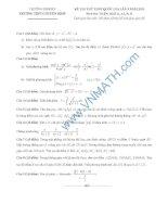 đề toán thi thử THPT QG năm 2015 đề số 181