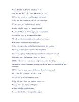 Đề THI CÂU Bị ĐộNG ANH 12 Số 4