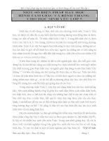 skkn một số BIỆN PHÁP dạy học HÌNH TAM GIÁC và HÌNH THANG CHO học SINH yếu lớp 5