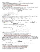 ĐỀ THI THỬ ĐẠI HỌC SỐ 7 CÓ LỜI GIẢI CHI TIẾT môn vật lý (có đáp án)