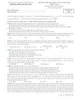 ĐỀ THI THỬ LẦN II NĂM 2014 CHUYÊN YÊN BÁI CÓ ĐÁP ÁN môn vật lý (6)