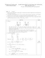 Đề hoá lớp 11 - sưu tầm đề kiểm tra, thi học sinh giỏi hoá học lớp 11 tham khảo bồi dưỡng (46)