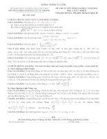 đề thi thử toán thpt quốc gia năm 2015, số 3