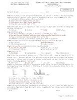 Đề thi thử THPT Quốc gia môn Hóa học chọn lọc số 13