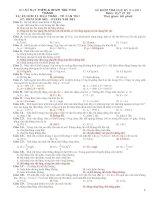 4 ĐỀ THI THỬ Học Kỳ 2 Vật Lý 10 (đáp án) (1)