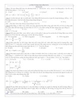Đề thi thử THPT quốc gia môn vật lý (có đáp án) tham khảo (1)