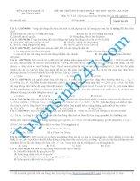 Đề thi thử lý năm 2015 - Có giải chi tiết kèm theo (55)