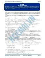 Đề cơ bản 08 - Bùi Gia Nội 2015 môn vật lý