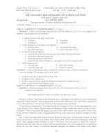 Đề thi học giỏi môn Tiếng Anh lớp 9 (3)