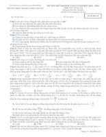 Đề thi thử Đại Học lần 2 năm 2014 THPT chuyên Lương Văn Tụy môn vật lý (2)