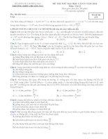 ĐỀ THI THỬ LẦN II NĂM 2014 CHUYÊN YÊN BÁI CÓ ĐÁP ÁN môn vật lý (5)