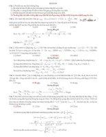 ĐỀ THI THỬ SỐ 22 CÓ LỜI GIẢI CHI TIẾT môn vật lý